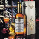1980 CANADIAN Club Whisky Vintage Print Advertisement