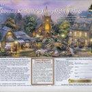THOMAS KINKADE 1999 Magazine Print Advertisement