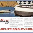 1960 EVINRUDE MOTOR BOAT Vintage Print Advertisement