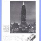 1935 AGFA FILM Empire State Bldg Vintage Print Advertisement
