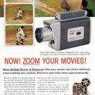 1958 KODAK Movie Camera Vintage Print Advertisement
