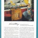 1947 G-E Musiphonic Radio Phonograph Vintage Print Ad
