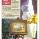 1987 DISNEY World Hotel Magazine Print Ad