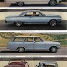 1964 CHEVROLET Auto 2-Pg Vintage Print Ad