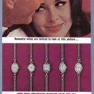 1963 HAMILTON Watch Magazine Print Ad