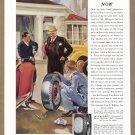 1937 GENERAL TIRES Magazine Print Ad