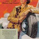 1935 GENERAL TIRES Magazine Print Ad