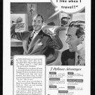 1940 PULLMAN Rail Service Magazine Print Ad