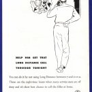 1948 BELL Telephone WWII-Era Vintage Print Ad