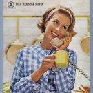 1963 BELL Telephone Vintage Magazine Print Ad