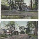 CANADA Vintage Postcards [lot of 2]