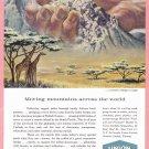 1959 Union Carbide Illustrated Vintage Print Ad