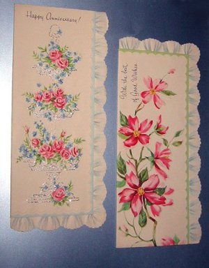 1940's & 1950's Vintage Greetings Cards [Lot of 2]