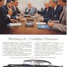 1955 CADILLAC Vintage Auto Print Ad