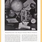 1957 BOLEX CAMERA Vintage Print Ad