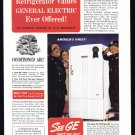 1940 G-E REFRIGERATOR Vintage Print Ad