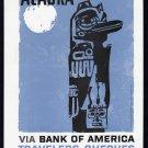 1959 BANK OF AMERICA Vintage ALASKA Print Ad