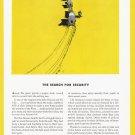 1935 TRAVELERS INSURANCE Vintage Print Ad