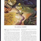 1941 TRAVELERS INSURANCE Vintage Print Ad