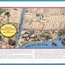 1938 TRAVELERS INSURANCE Vintage Print Ad