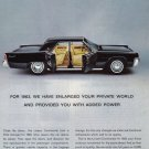 1963 LINCOLN CONTINENTAL Vintage Auto Print Ad