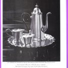 REED & BARTON 1977 Pewter Coffee Service Print Magazine Ad