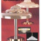 1979 OGGETTI LAMPS Vintage Magazine Print Ad