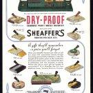 1936 SHEAFFER PENS Vintage Magazine Print Ad