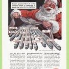 1949 NEW YORK CENTRAL RAILROAD Vintage Print Ad