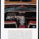 1963 THUNDERBIRD Vintage Auto Print Ad