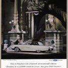 1963 THUNDERBIRD LANDAU Vintage Auto Print Ad