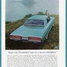 1964 THUNDERBIRD Vintage Auto Print Ad