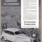 1940 STUDEBAKER Vintage Auto Print Ad