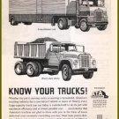 1963 INT'L HARVESTER TRUCKS Vintage Print Ad