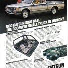 1980 NISSAN DATSUN TRUCK Vintage Print Ad