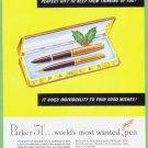 1948 PARKER PENS Vintage Print Ad