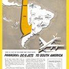 1960 PANAGRA AIRLINES Vintage Print Ad