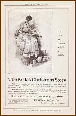1907 KODAK CAMERA Antique Illustrated Print Ad
