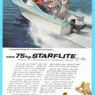 1959 EVINRUDE MOTORBOAT Vintage Print Ad