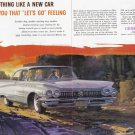 1960 BUICK Vintage Auto Print Ad - 2 Pages