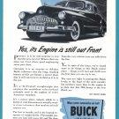 1946 BUICK Vintage Auto Print Ad