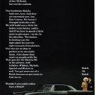 1965 BUICK ELECTRA Vintage Auto Print Ad