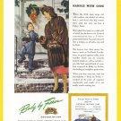1946 CADILLAC Vintage Auto Print Ad