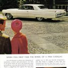 1964 CADILLAC Vintage Auto Print Ad