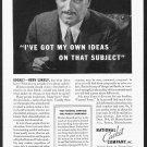 1935 NATIONAL CASKET Company Vintage Print Ad