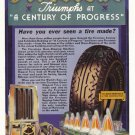 1933 FIRESTONE TIRES Vintage Print Ad