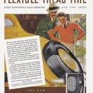 1937 GENERAL TIRES Vintage Print Ad