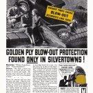 1936 GOODRICH TIRES Vintage Print Ad