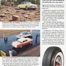 1956 GOODYEAR TIRES Vintage Print Ad