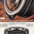 1963 GOODYEAR TIRES Vintage Print Ad